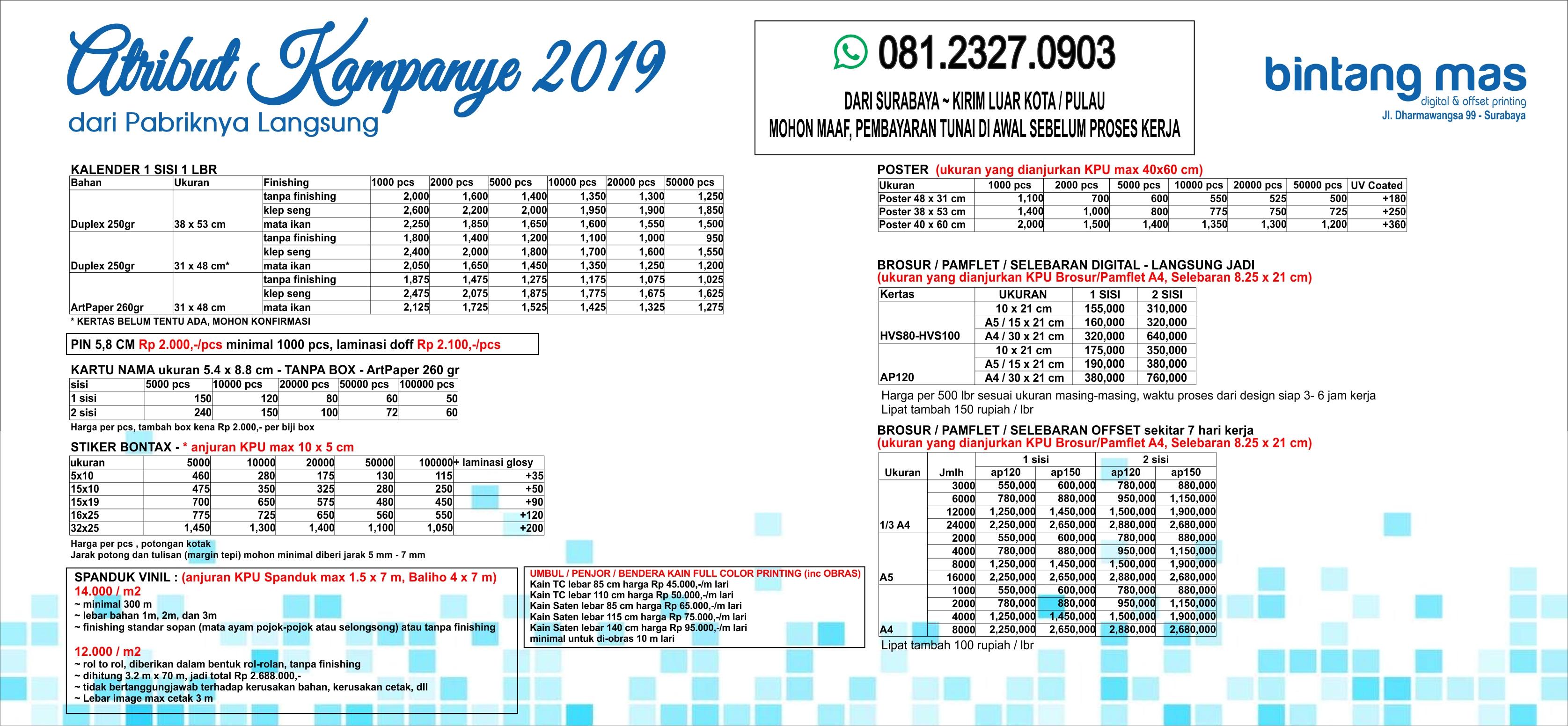 Digital Printing Surabaya Percetakan Surabaya Bannerku